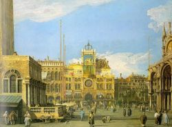 Canaletto - Piazza San Marco - The Clocktower