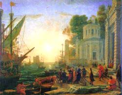 Claude Lorrain - The Disembarkation Of Cleopatra At Tarsus
