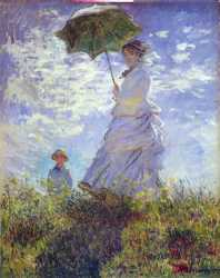 Claude Monet - The Walk - Woman With A Parasol