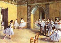 Edgar Degas - The Dance Foyer At The Opera