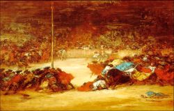 Goya - The Bullfight