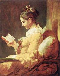 Jean Honore Fragonard - The Reader