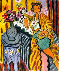 Matisse - Odalisque With Yellow Persian Robe