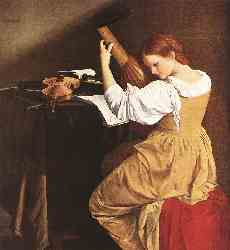 Orazio Gentileschi - The Lute Player