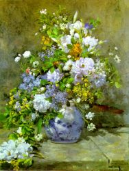 Renoir - Bouquet Of Spring Flowers