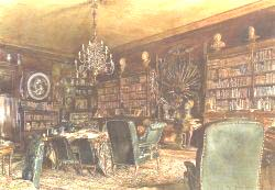 The Library Of The Palais Lanckoronski Vienna