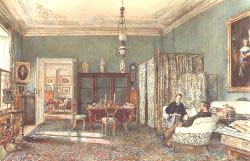 The Morning Room Of The Palais Lanckoronski Vienna