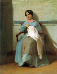 A Portrait Of Léonie Bouguereau