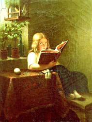 The Reading Girl 1