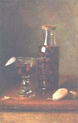 Still Life With Jar Of Cherries