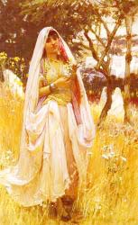 Moorish Girl Algiers Countryside