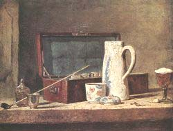 Still'Life With Pipe An Jug