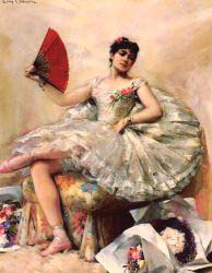 Portrait Of The Ballerina Rosita Mauri