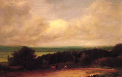 Landscape - Ploughing Scene In Suffolk