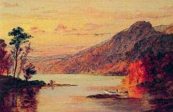 Lake Scene - Catskill Mountains