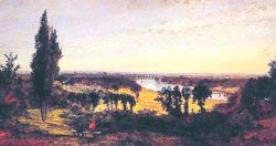 Richmond Hill And The Thames - London