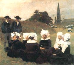 Breton Women At A Pardon