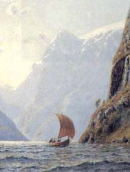 Sailing In A Fjord