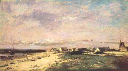 French Coastal Scene