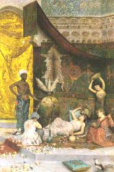 A Musical Interlude In The Harem
