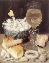Still'Life With Bread And Confectionary