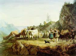Return From The Mountain Pasture