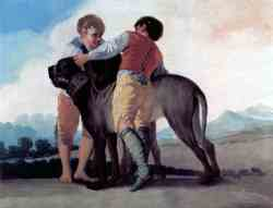 Boys With Bloodhounds (1786-1787)