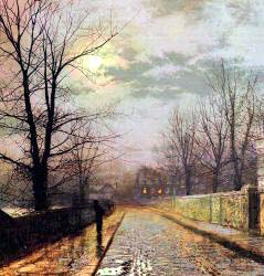 Lane In Cheshire