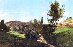 Landscape In The Durance Valley