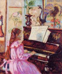 Young Girl At The Piano