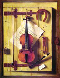 Still Life - Violin And Music