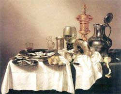 Still'life With Gilt Goblet