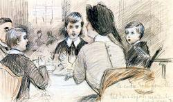 A Family Dinner At The Ritz - New York