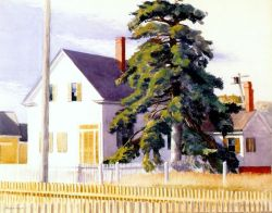 House With Big Pine - 1935
