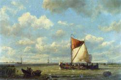Shipping In A Calm On The Zuyder Zee