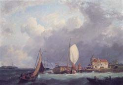Shipping Off The Dutch Coast 1