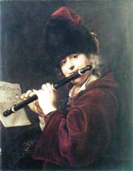 Portrait Of The Court Musician Josef Lemberger