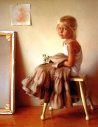 Portrait Of The Artist Daughter - Sophia Rose