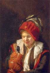 Kannekijker A Youth With A Jug