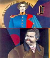 Double Portrait Of King Ludwig II