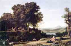 Landscape With Apollo, Muses and a River God (1652)