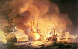 Battle Of The Nile - August 1st 1798