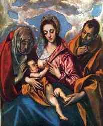 Holy Family (The Virgin Of The Good Milk)