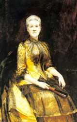 A Portrait Of Mrs James Leigh Coleman