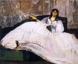 Baudelaire's Mistress Reclining
