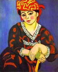 Madame Matisse - Madras Rouge