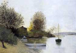Fishermen On The Banks Of The Loire