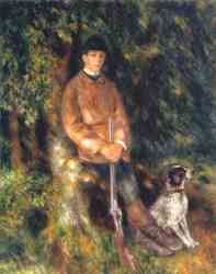 Alfred Berard And His Dog