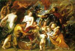 Allegory On The Blessings Of Peace And War