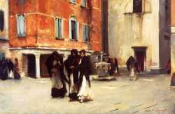 Leaving Church - Campo San Canciano - Venice